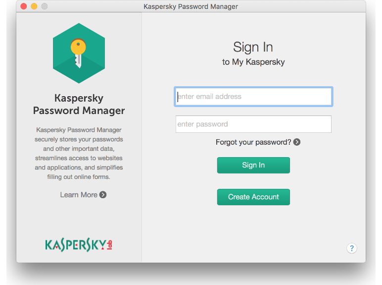Kaspersky Password Manager Sign In