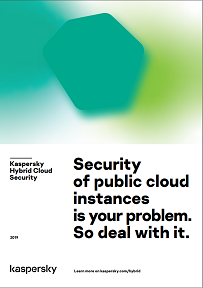Security of public cloud instances is your problem. So deal with it.