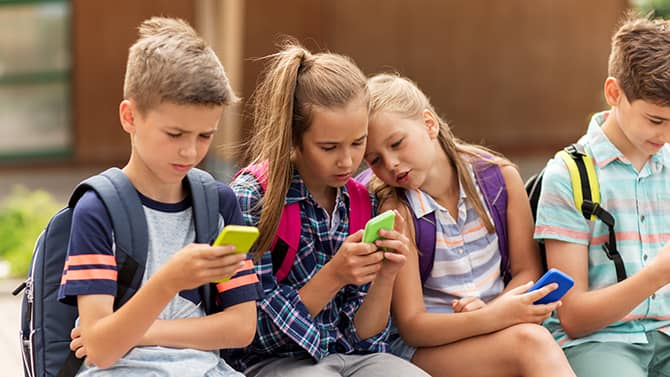 Children need special protection on the internet